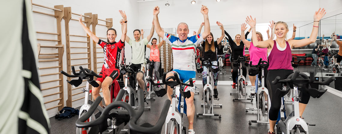 Indoorcycling im Fitalis Bern